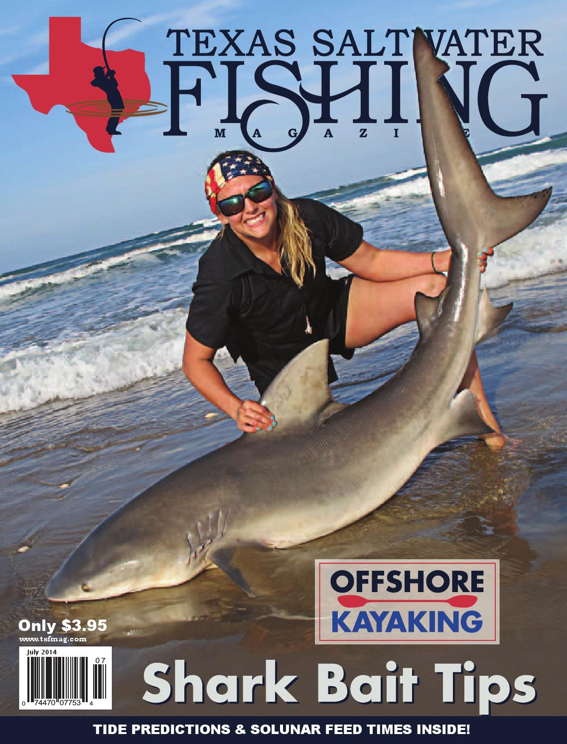 July 2014 by texas salwater fishing magazine issuu for Texas saltwater fishing magazine