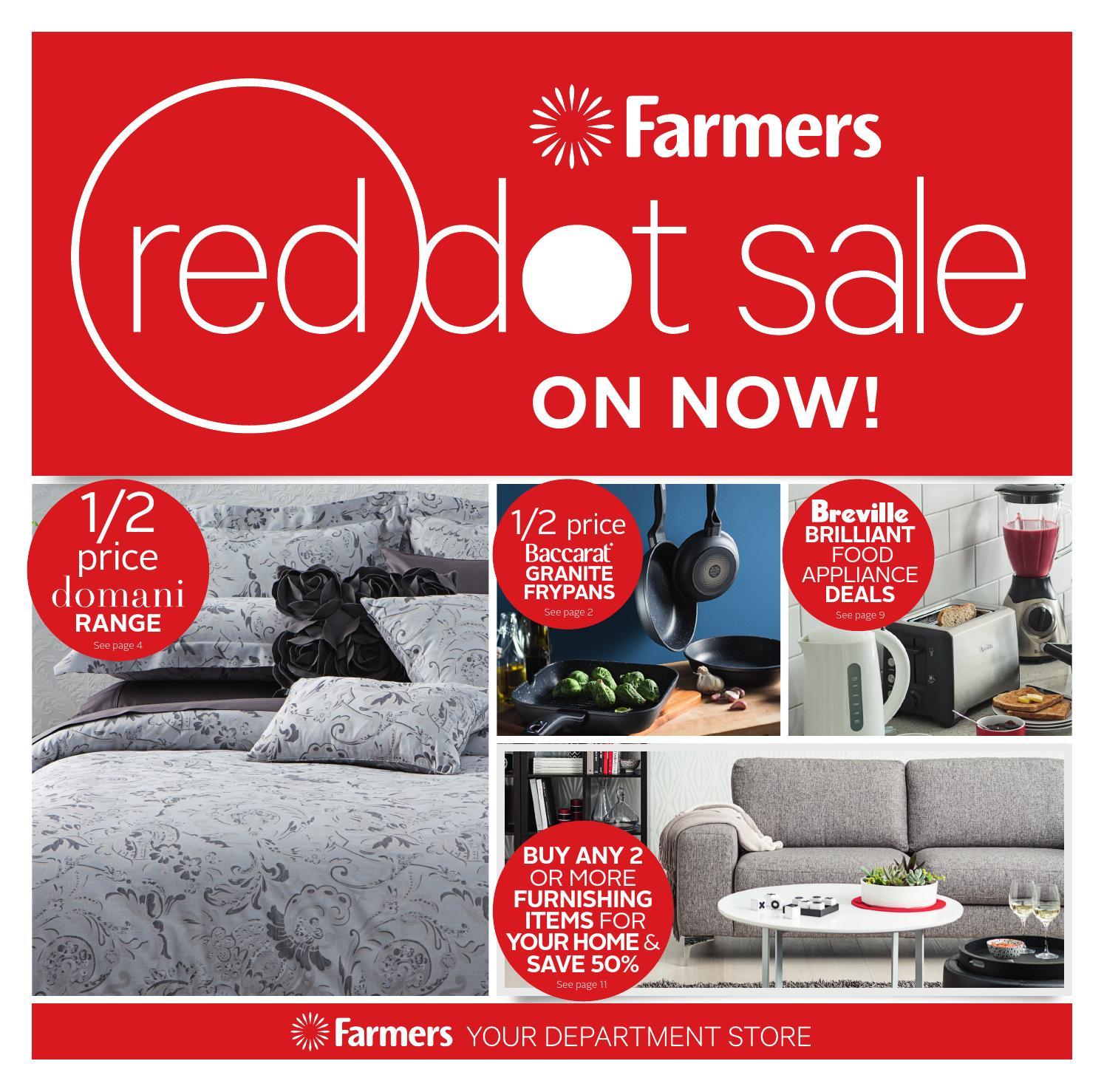 Farmers Red Dot Sale By Westfield Nz Issuu