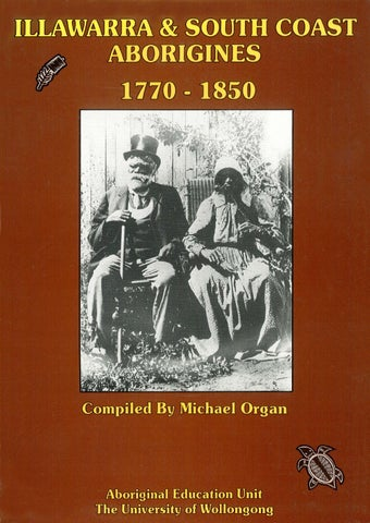 552305eec68 Illawarra and South Coast Aborigines 1770-1850, Part 3 by UOW ...