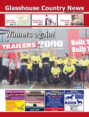 34f0571af271b Edition 25 june 2014 by Glasshouse Country & Maleny News - issuu