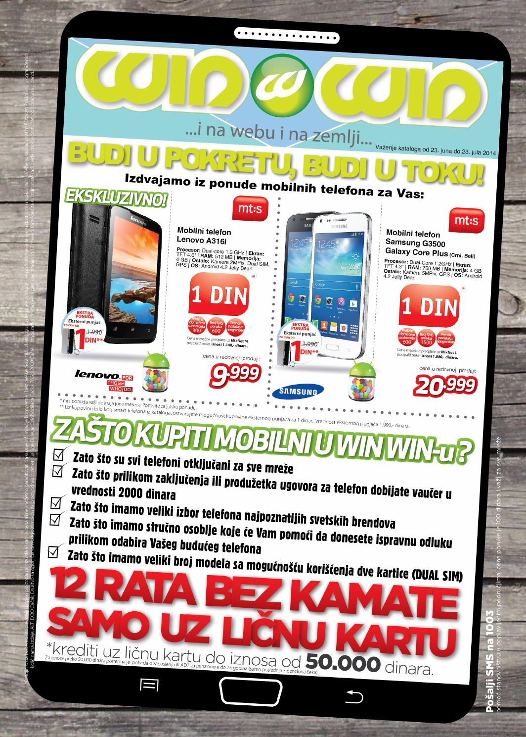 Winwin Katalog Jun Mobilni Telefoni By Winwin Shop Issuu