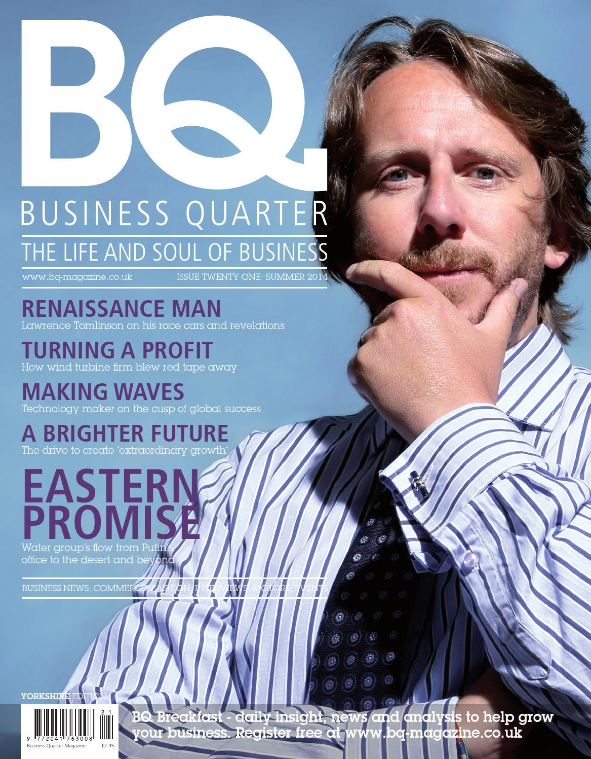 BQ Yorkshire Issue 21 by BQ Magazine - issuu