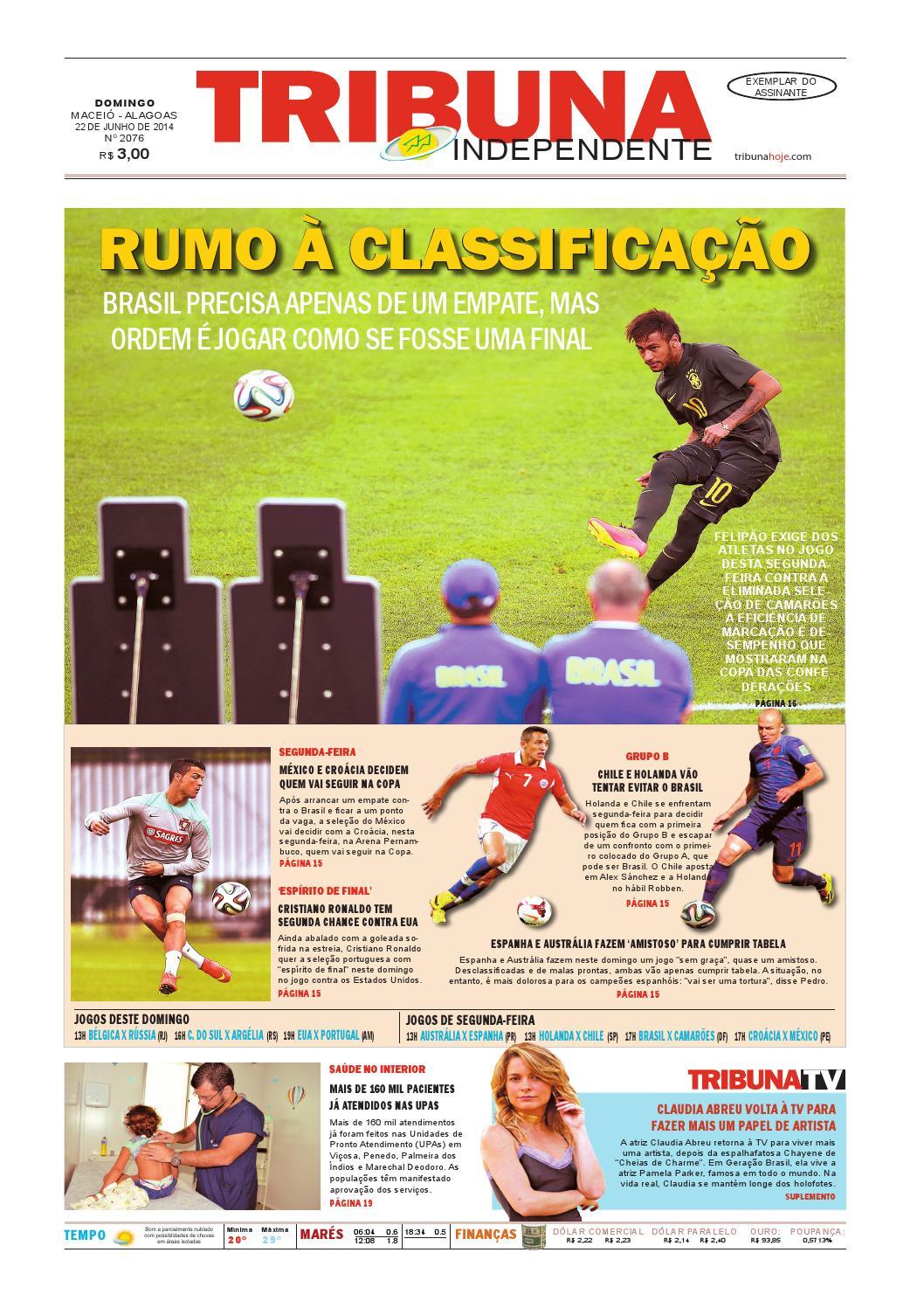 Edição número 2076 - 22 de junho de 2014 by Tribuna Hoje - issuu 43f6c11d06e82