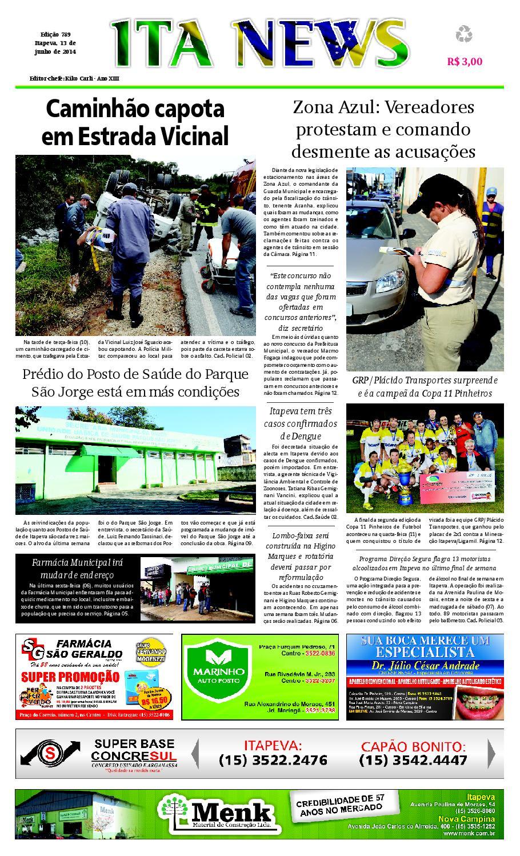 9d2081426 Jornal Ita News - Edição 789 by Ita News - issuu