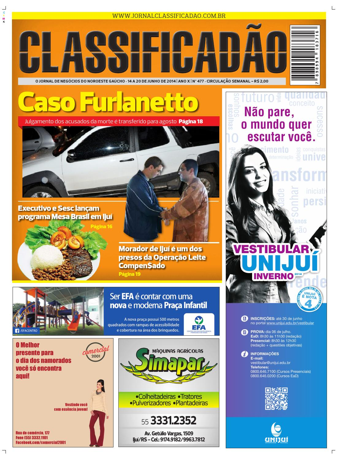 0449d281adec0 Jornal Classificadão - Edição 477 by Jornal Classificadão - issuu
