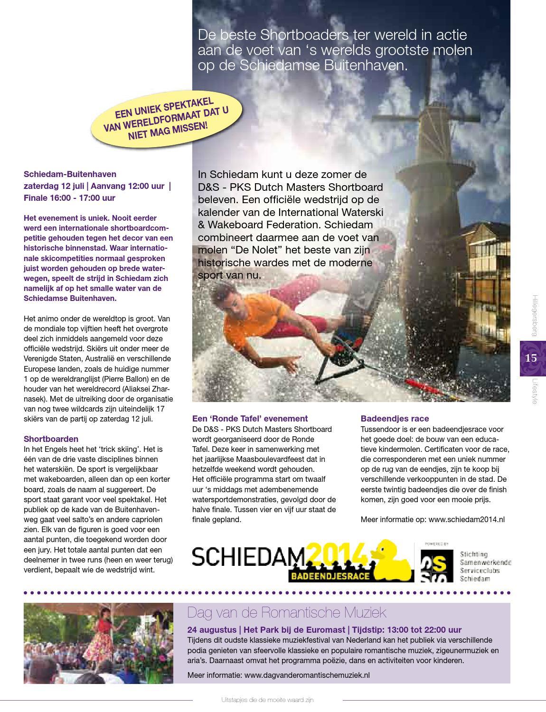 Ronde Tafel Schiedam.Hls Juni 2014 By Hillegersberg Lifestyle Issuu