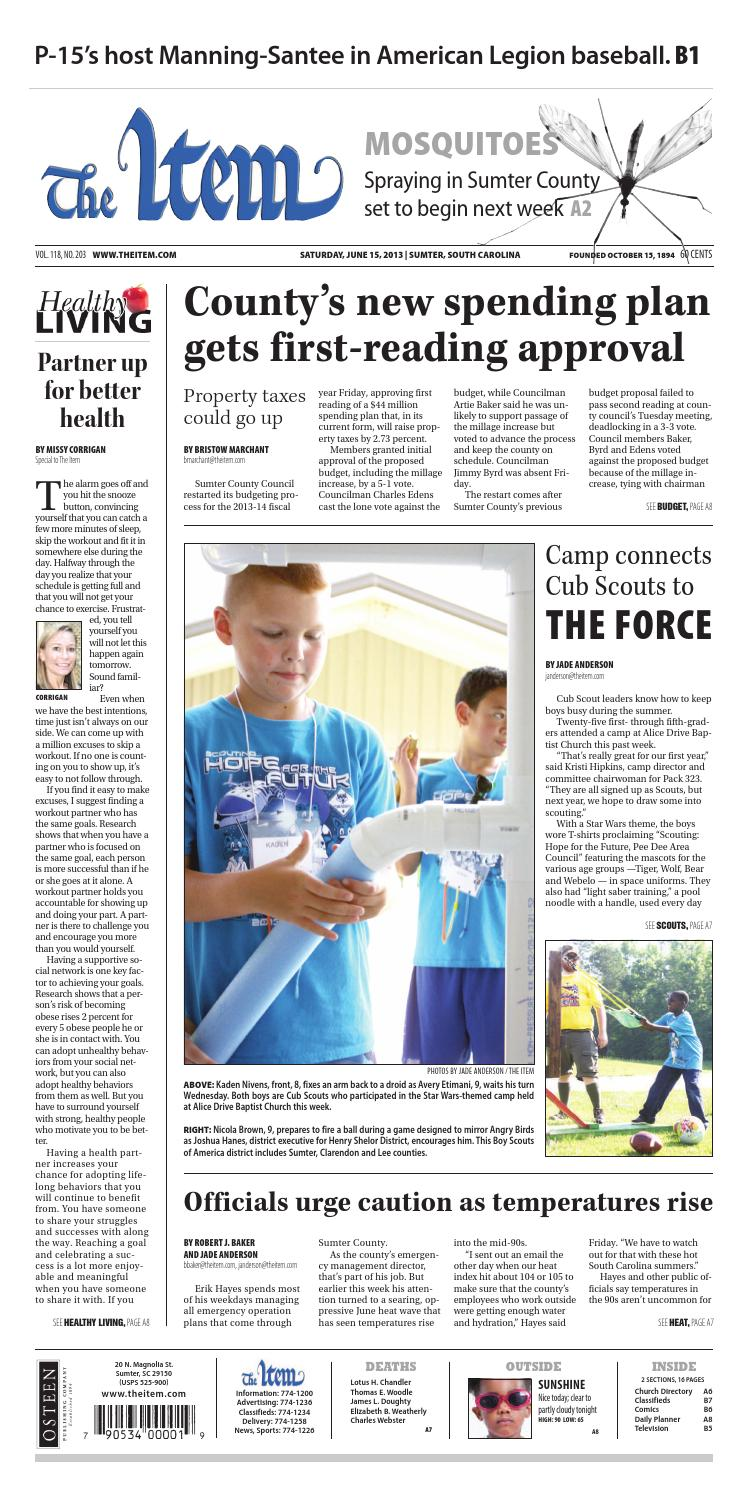 June 15, 2013 by The Sumter Item - issuu