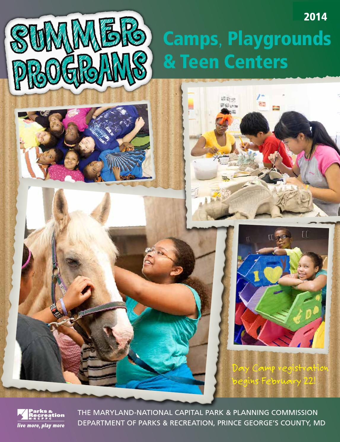 Campbook2014 by M-NCPPC, Department of Parks & Recreation, Prince ...