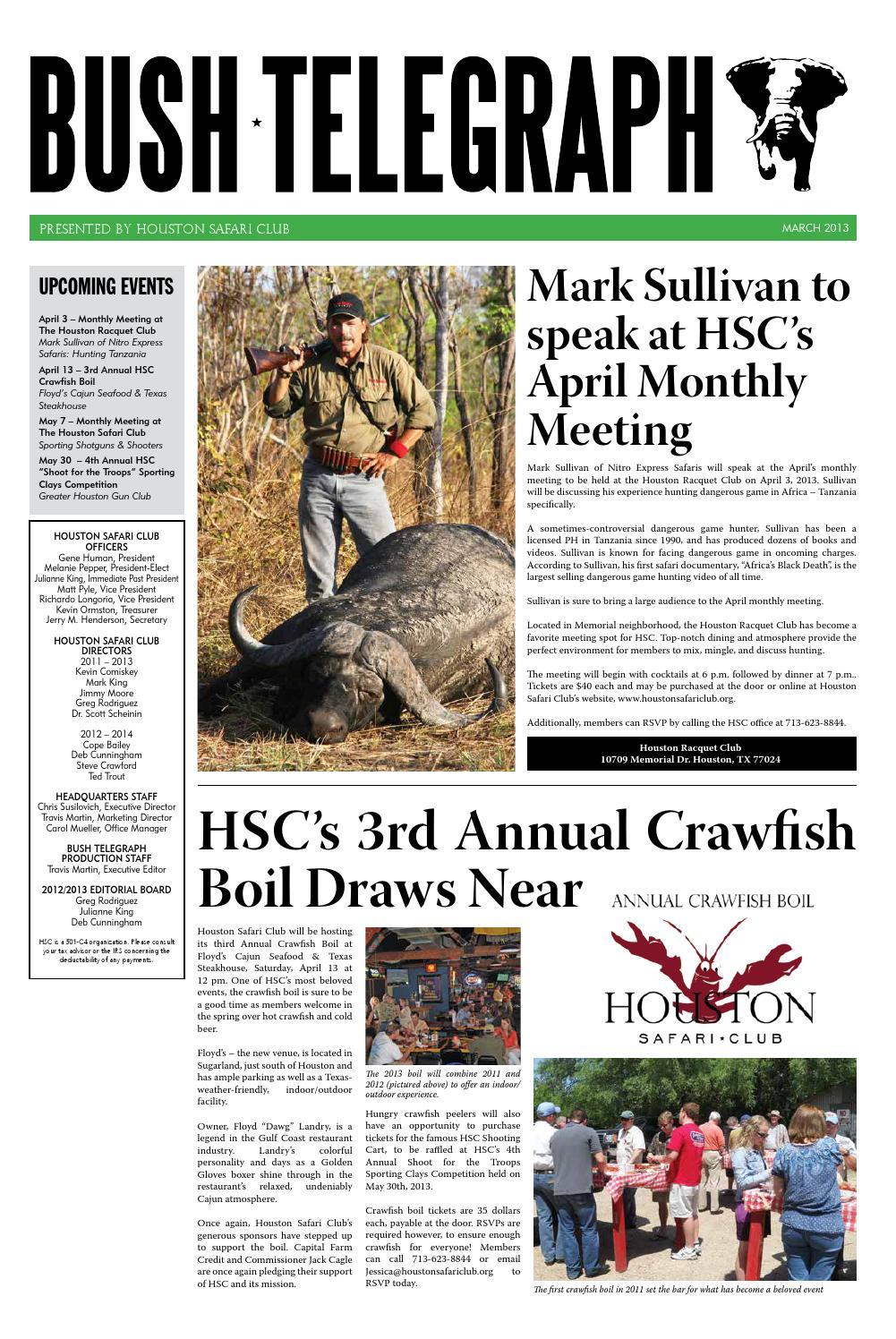Bush Telegraph March 3 by Travis Martin - issuu
