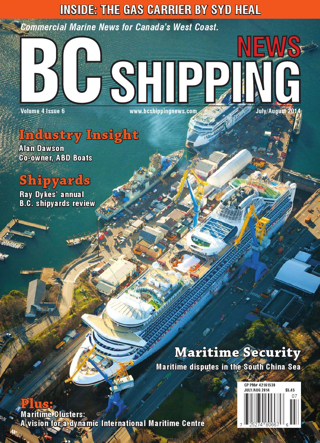 BC Shipping News - July/August 2014 by BC Shipping News - issuu