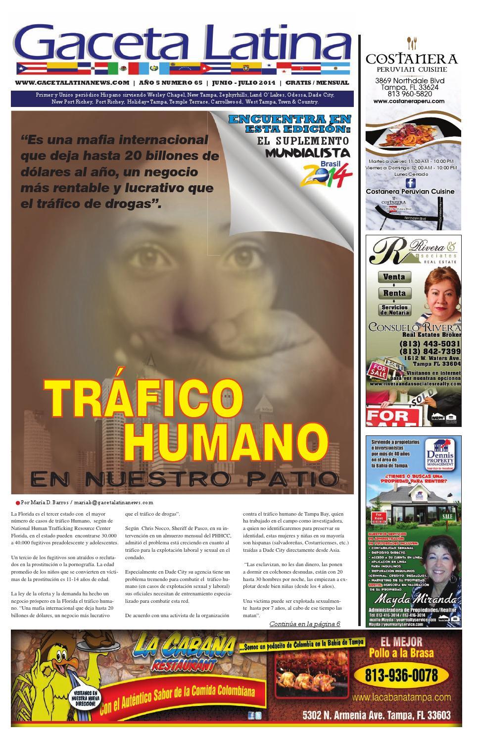 Gaceta Latina June-July 2014. by Gaceta Latina Newspaper - issuu