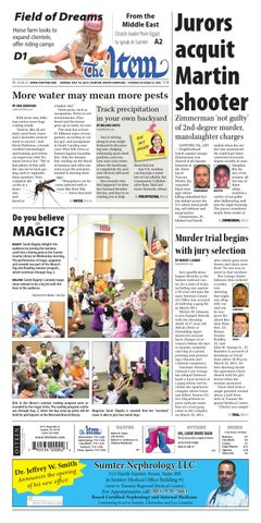 July 14, 2013 by The Sumter Item - issuu