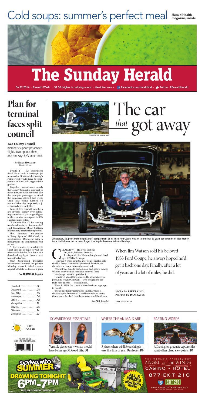 Everett Daily Herald, June 22, 2014 by Sound Publishing - issuu