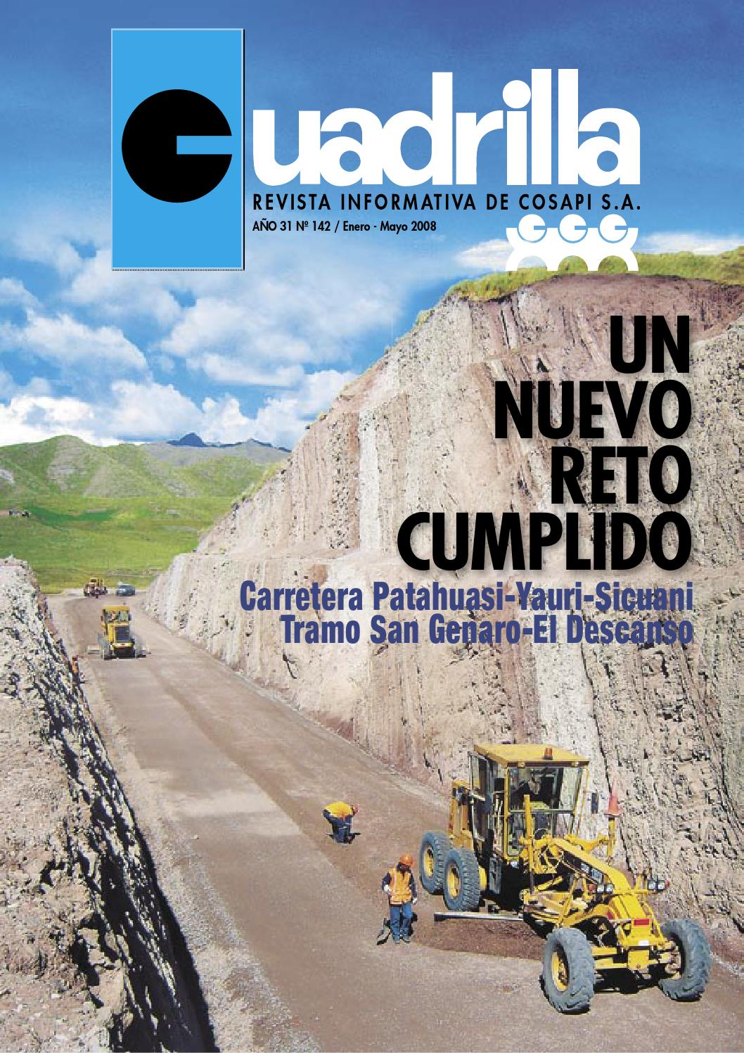 Cosapi revista cuadrilla 142 by Cosapi - issuu