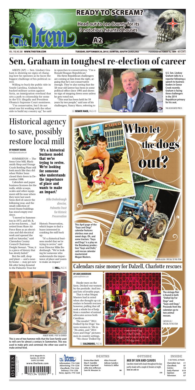 September 24, 2013 by The Sumter Item - issuu