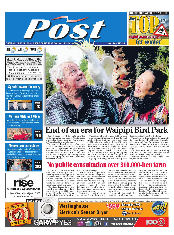 Post Newspaper 24 June 2014 by SteveD - issuu