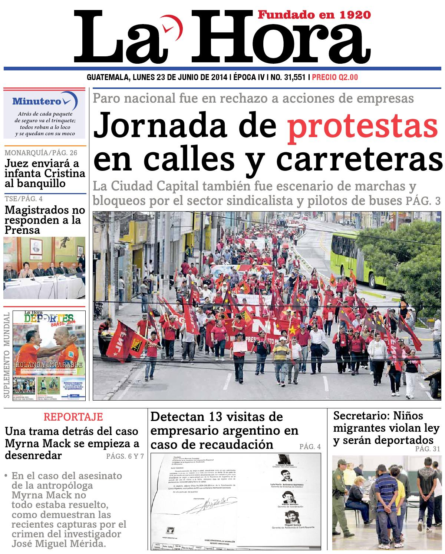 Diario La Hora 23-06-2014 by La Hora - issuu