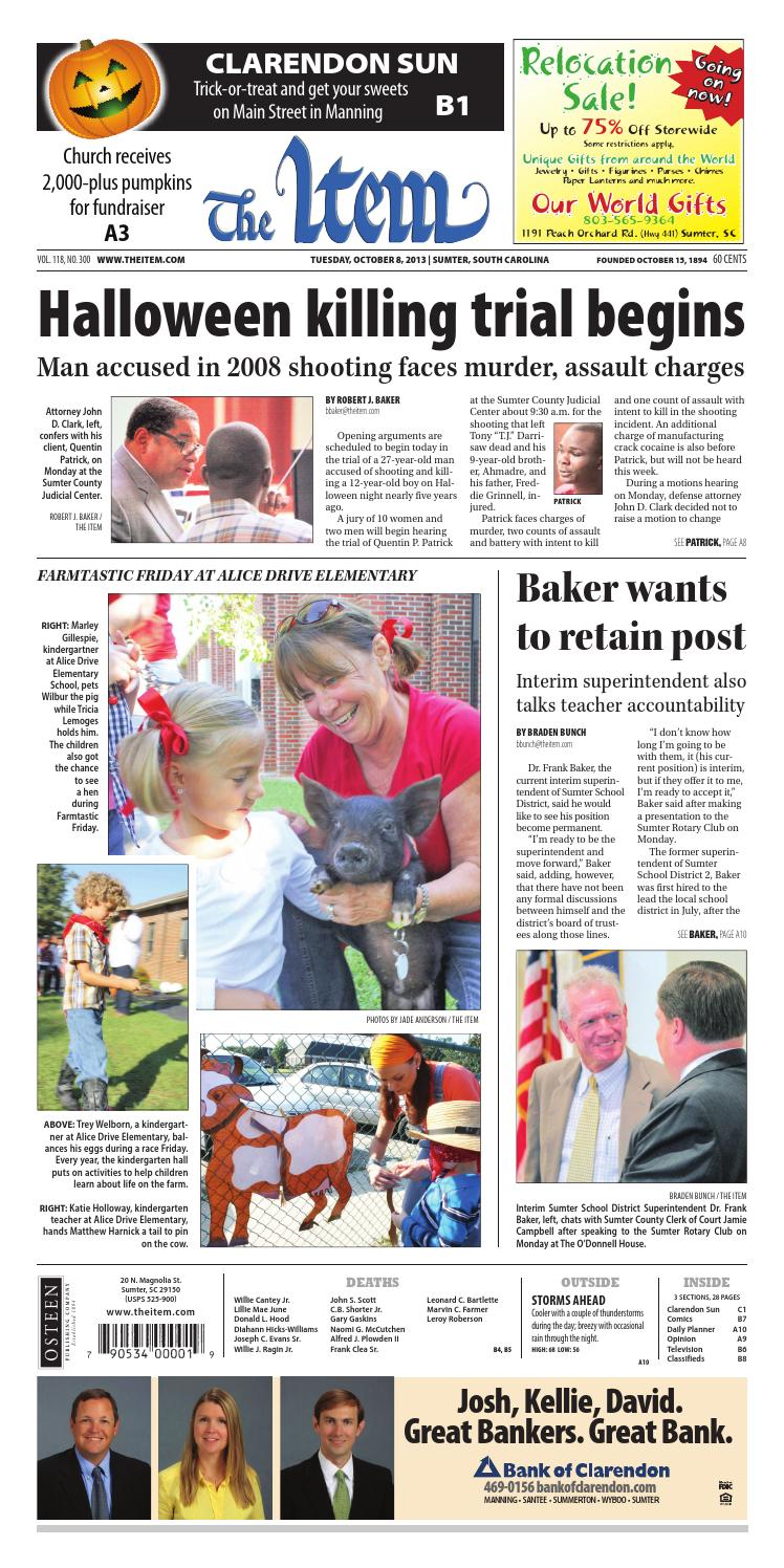 October 8, 2013 by The Sumter Item - issuu