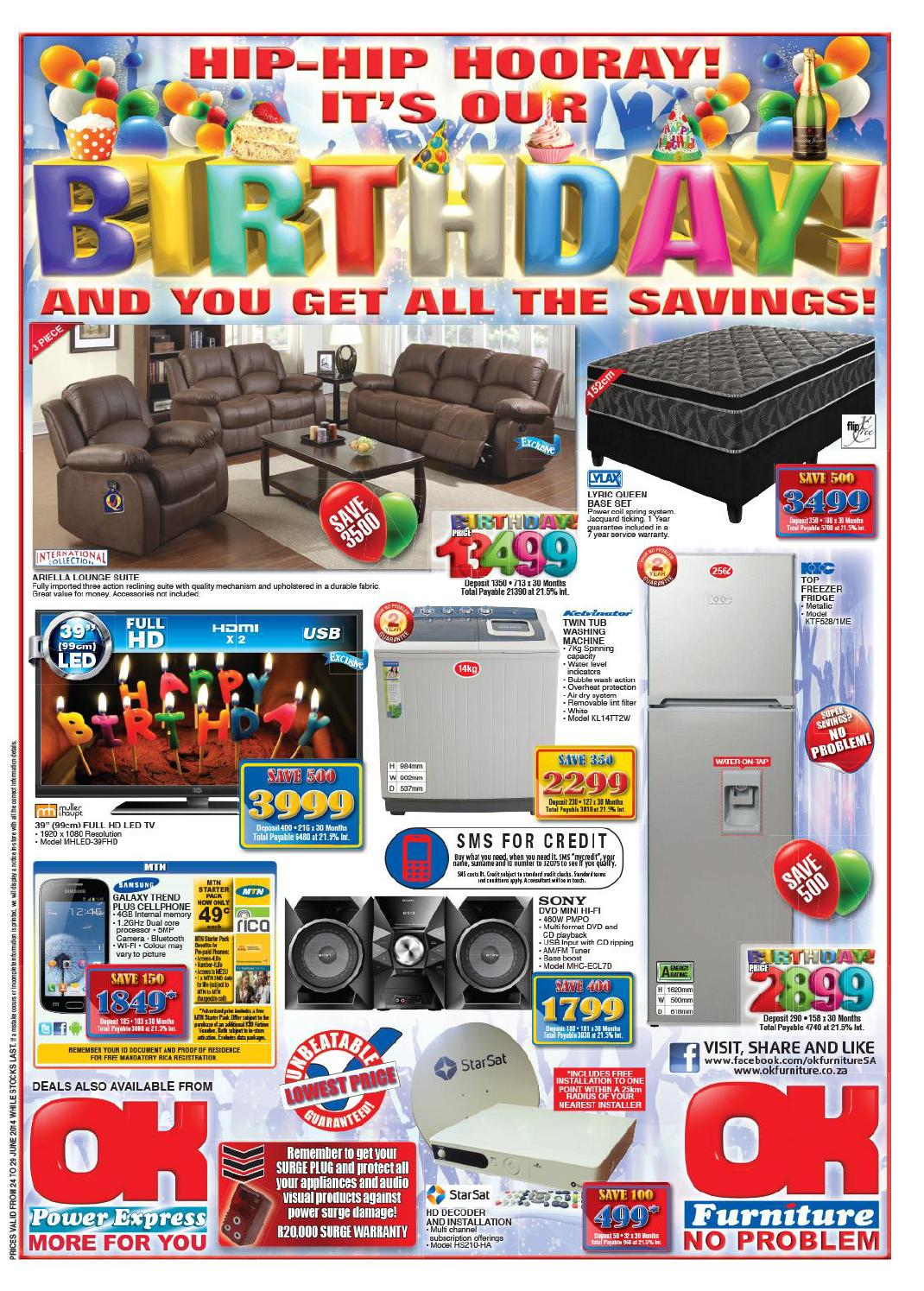 OK Furniture Catalogue Validity 24 29 June 2014 by OK