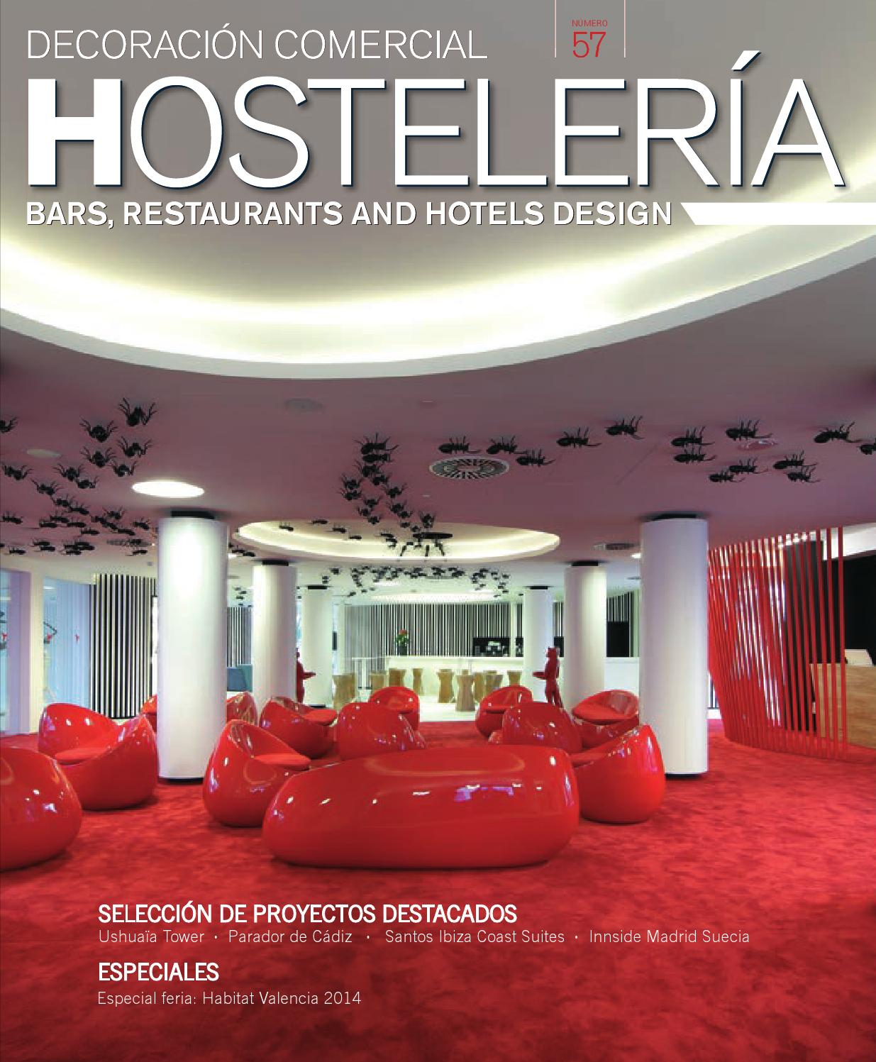 Decoraci N Comercial Hosteler A N 57 By Digital Newspapers S L  # Muebles Canella