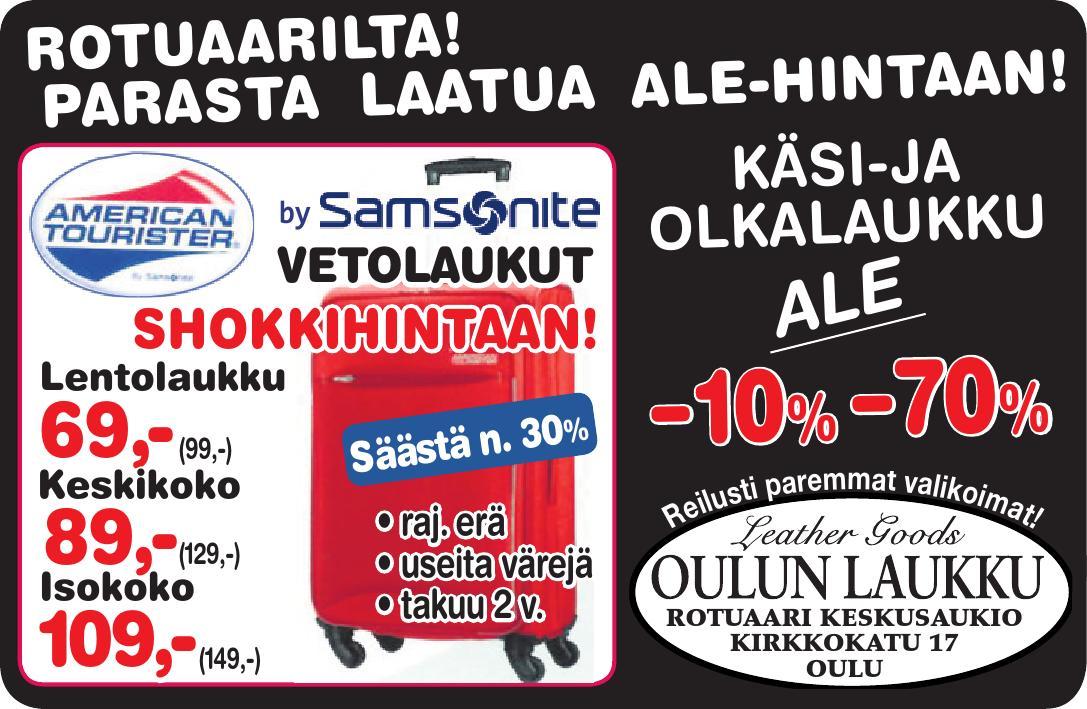 Oulun Laukku Aukiolo : Oulun laukku by kaleva oy issuu