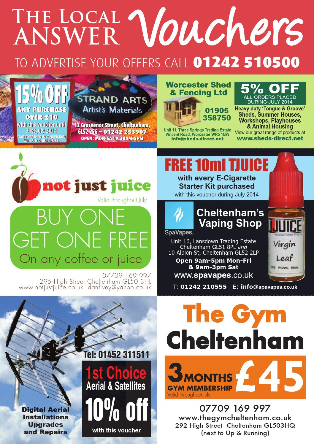Cheltenham by The Local Answer - issuu