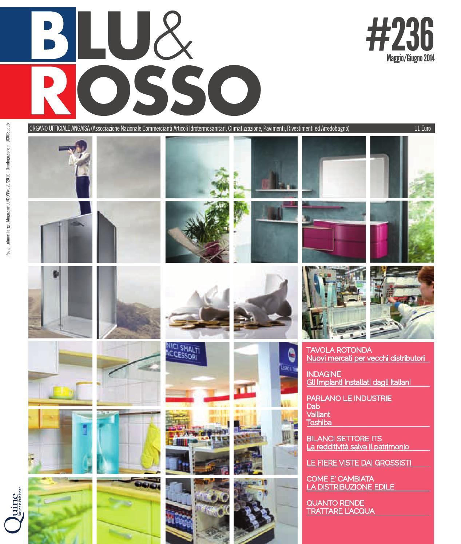 Arredo Bagno Bologna Manzini.Blu Rosso 236 Giugno 2014 By Blu Rosso Issuu