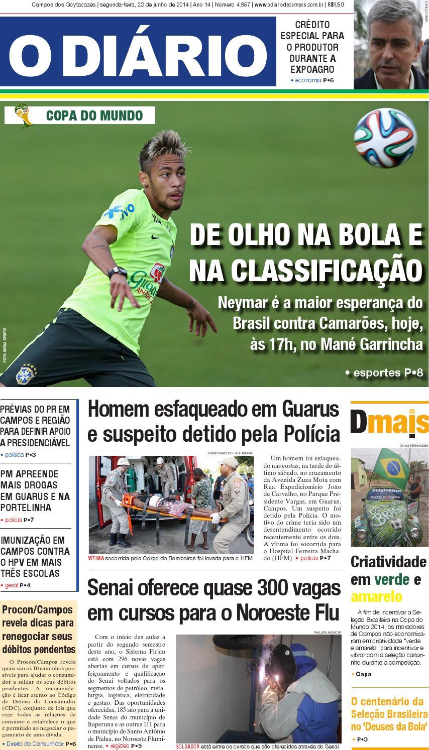 2ed43b104e Jornal23062014 by jornalodiario - issuu