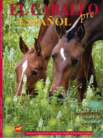 Revista El Caballo Español 2013, n.215 by Revista El Caballo Español ...