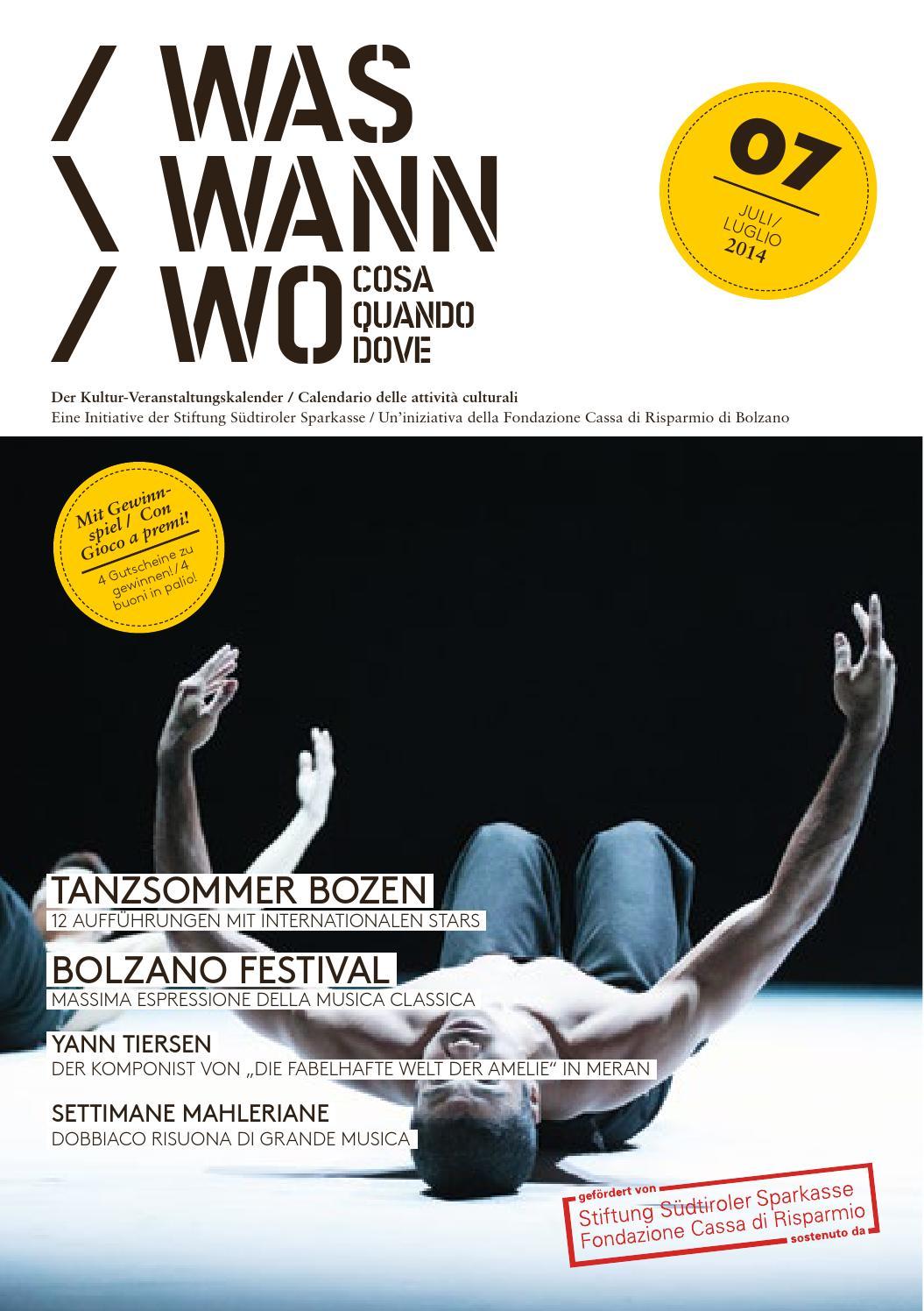 Www 2014 07 by Stiftung Südtiroler Sparkasse - issuu