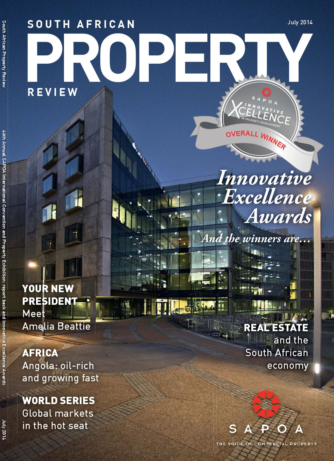 a5228539cd6 South African Property Review July 2014 by SAPOA - issuu