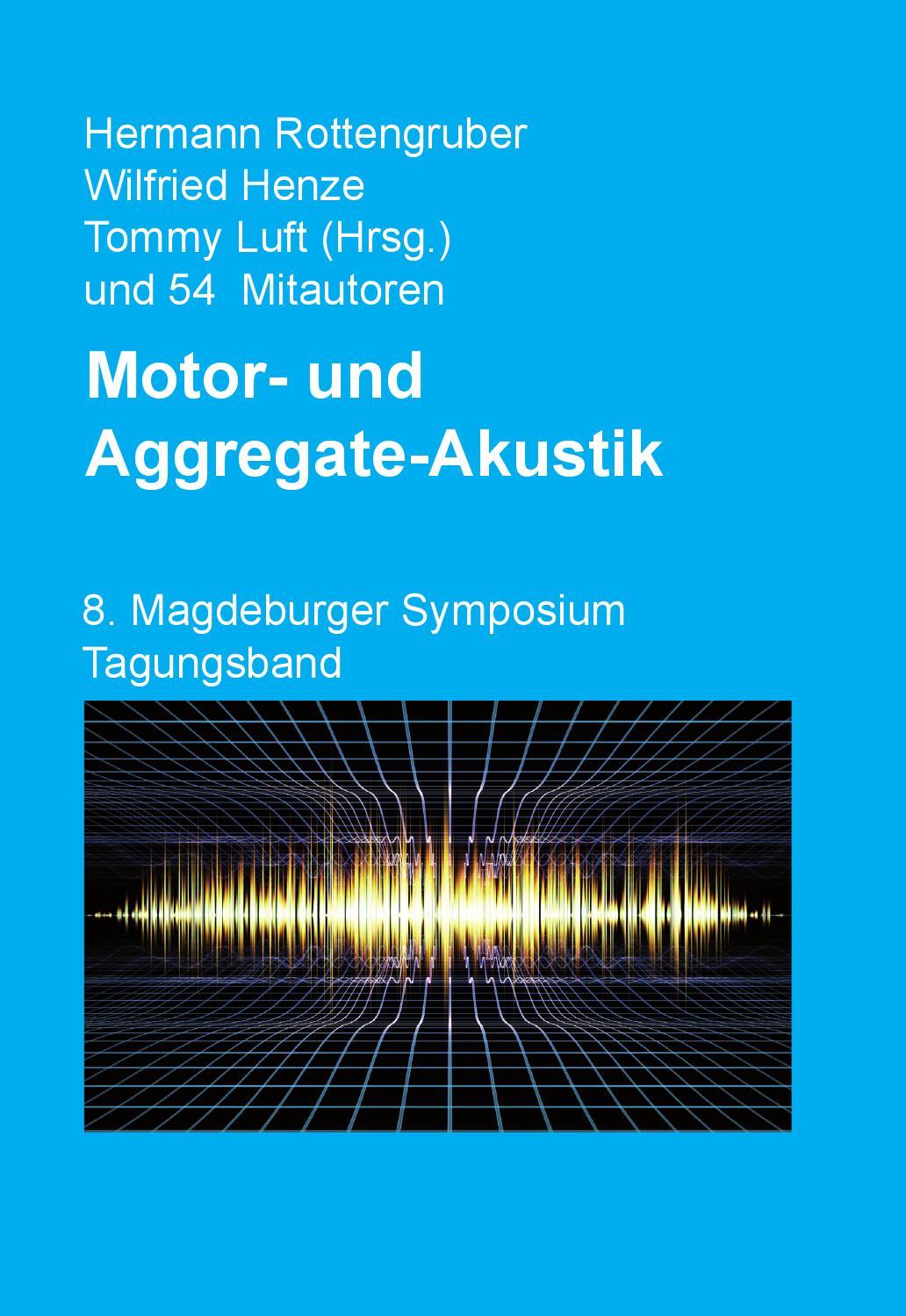 8 Magdeburger Symposium Tagungsband by Otto-von-Guericke ...