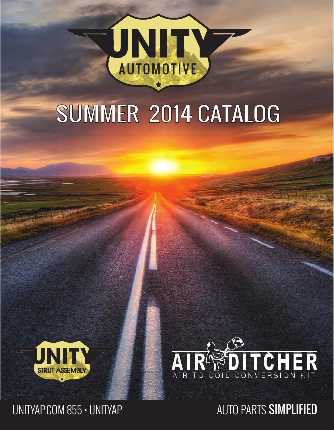 Unity 15360 Rear Complete Strut Assembly Unity Automotive