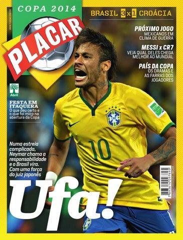 Pós-jogo 1 - Copa 2014 by Revista Placar - issuu 94607e0795f55