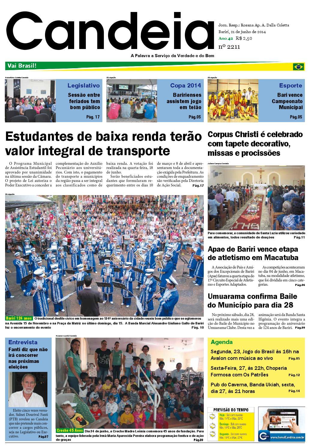 Jornal candeia 21 06 2014 by Jornal Candeia - issuu 0fcf75a7ea507