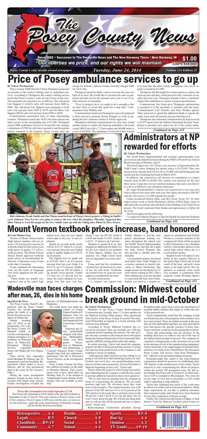 June 24 2014 The Posey County News By The Posey County News Issuu