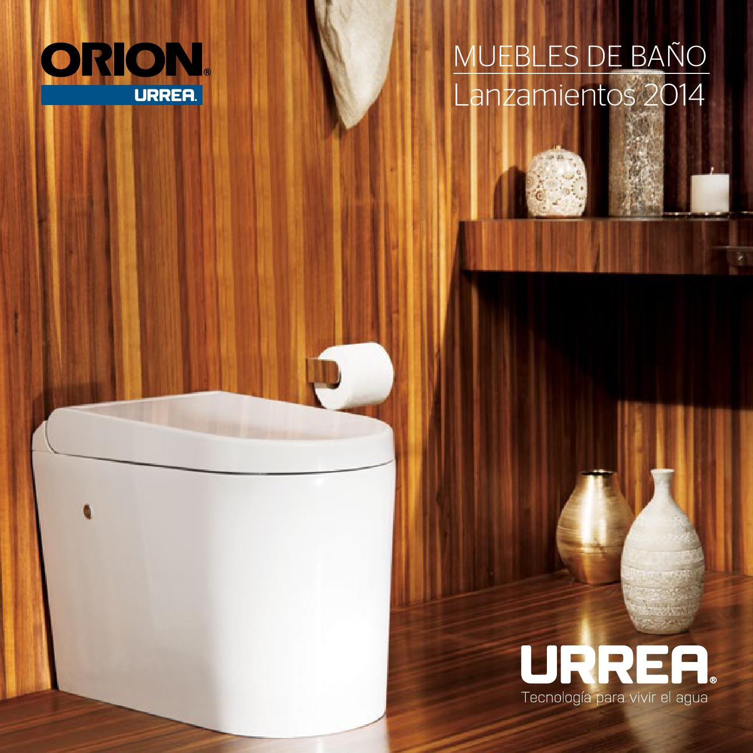 Muebles de ba o by urrea m xico issuu for Urrea llaves para bano