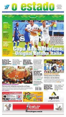 ab8470d70e Edição 22284 - 25 de junho de 2014 by Jornal O Estado (Ceará) - issuu