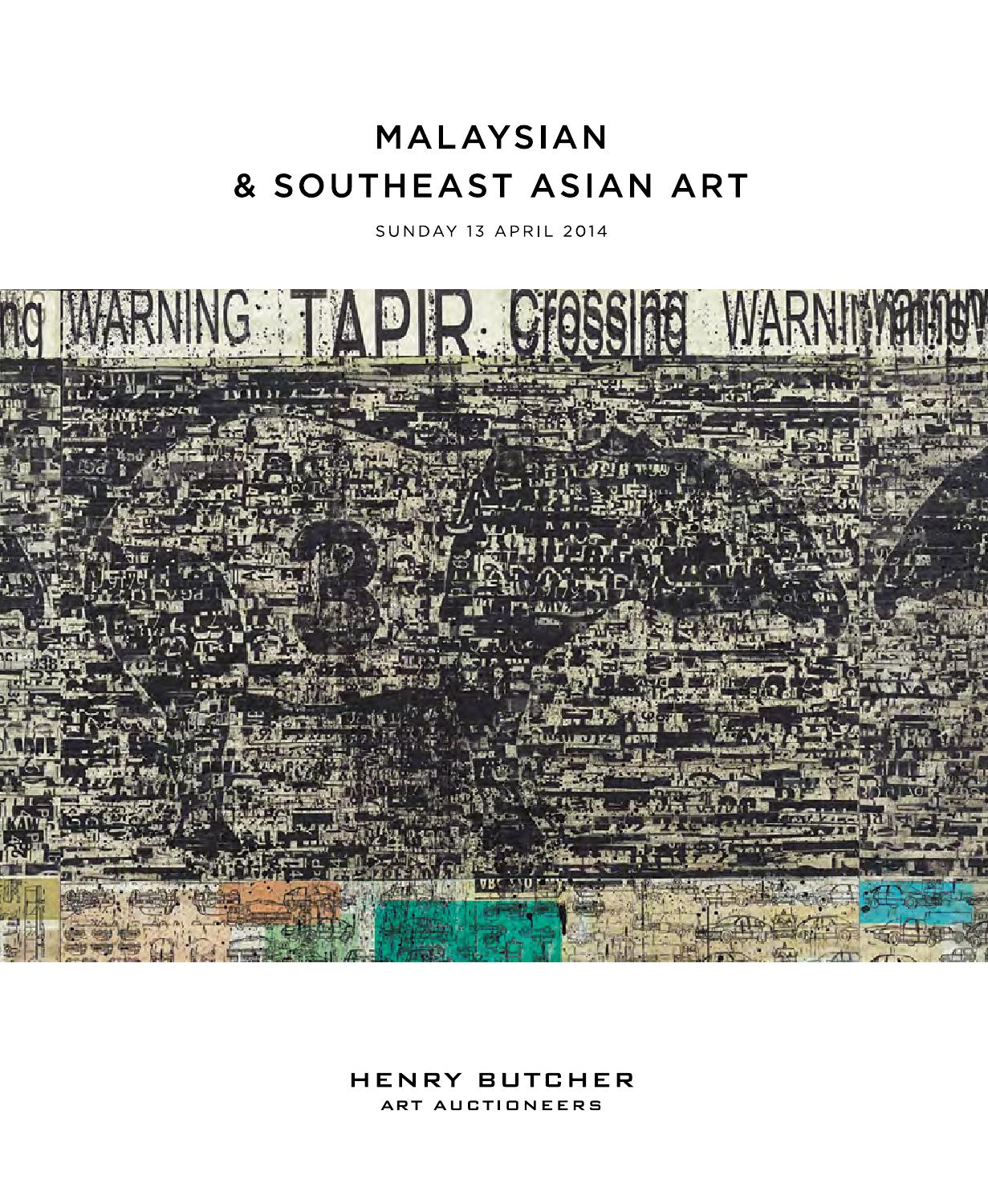 Malaysian Southeast Asian Art 13 April 2014 By Henry Butcher Tendencies Tshirt Imagine Line Putih L Auctioneers Issuu