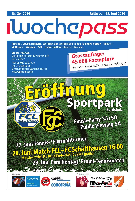 Woche Pass | KW 26 | 25. Juni 2014 by Woche Pass AG issuu