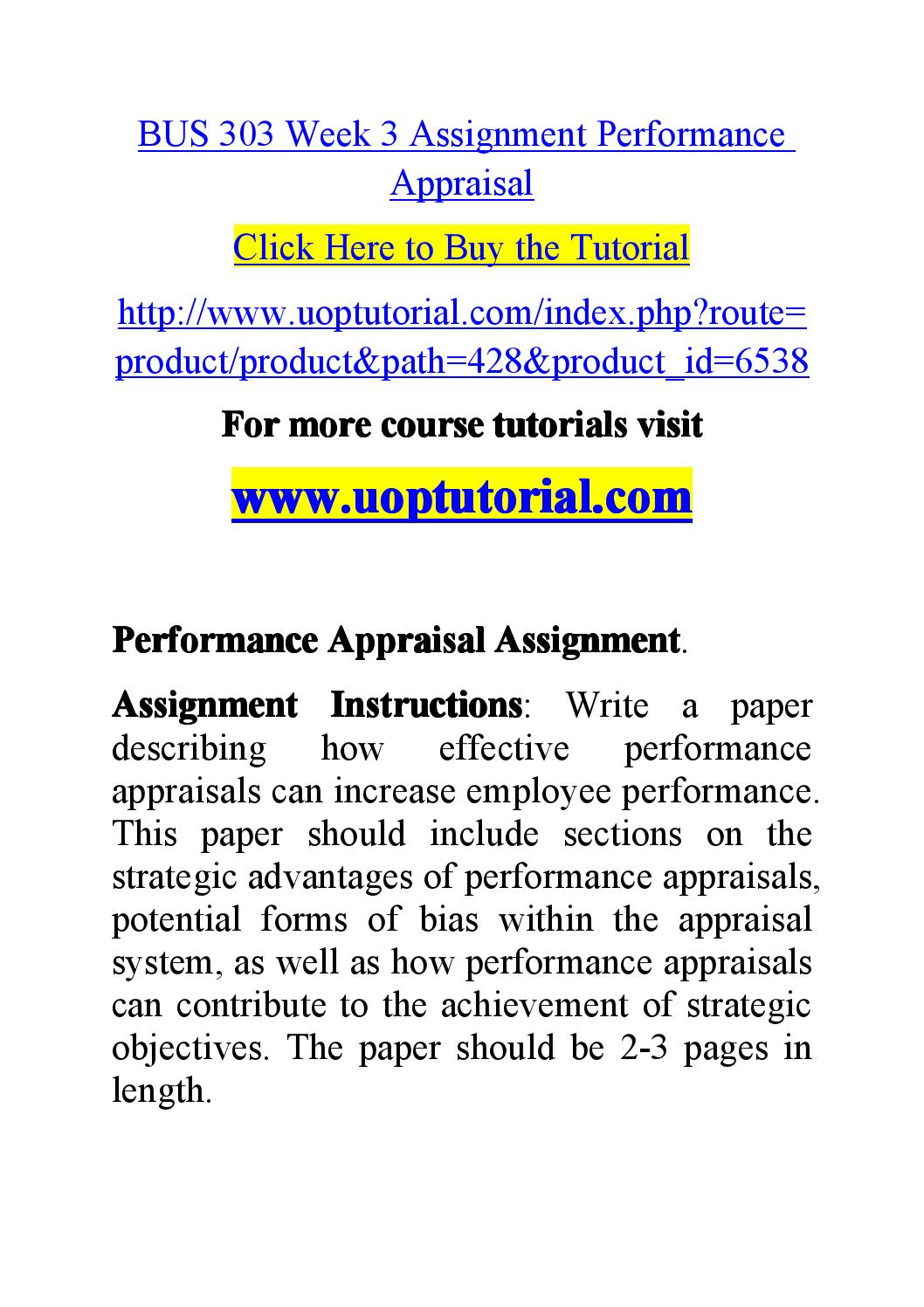 Potential forms of bias within the appraisal system