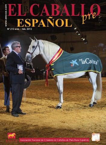 eb2e397c2 Revista El Caballo Español 2013 n.213 (ENGLISH) by Revista El ...