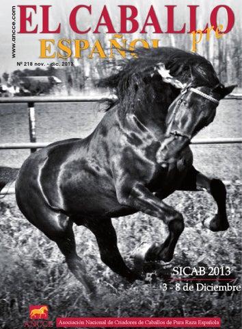 e371eebb0 Revista El Caballo Español 2013 n.218 by Revista El Caballo Español ...