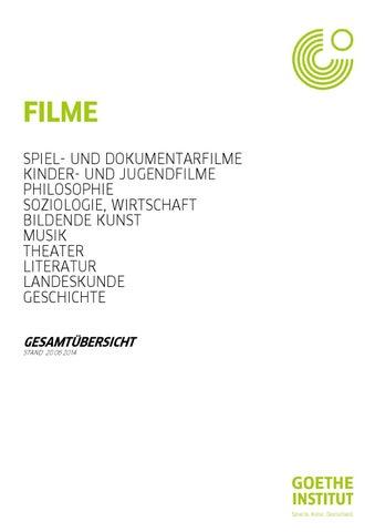 Filme in der Bibliothek by Goethe-Institut Bulgarien - issuu