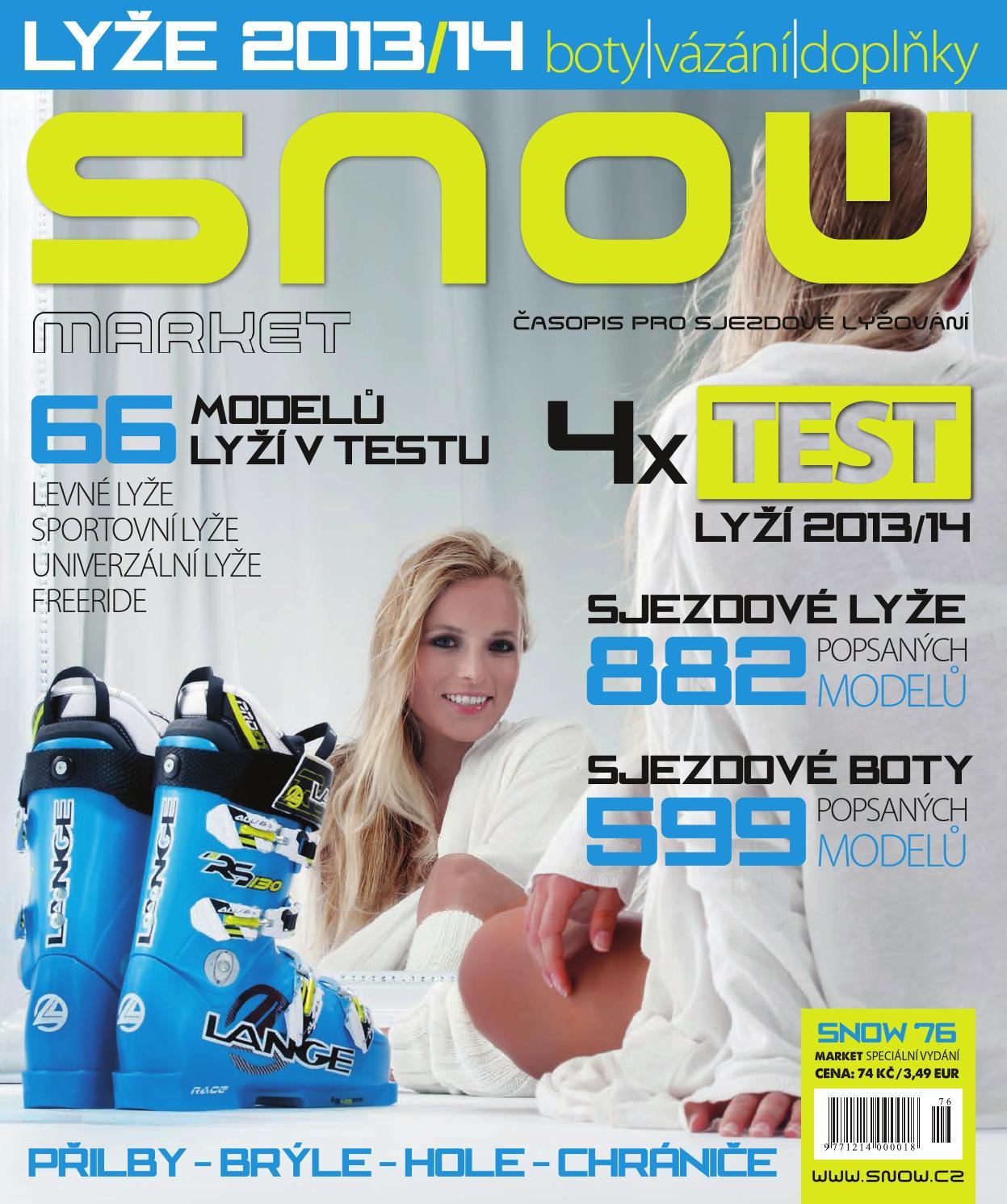 SNOW 76 Market - lyže a testy lyží 2013 2014 by SNOW CZ s.r.o. - issuu f9adb7f735