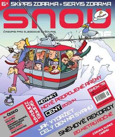 SNOW 78 Time - speciál o lyžařské dovolené 2013 2014 by SNOW CZ ... cabc138624