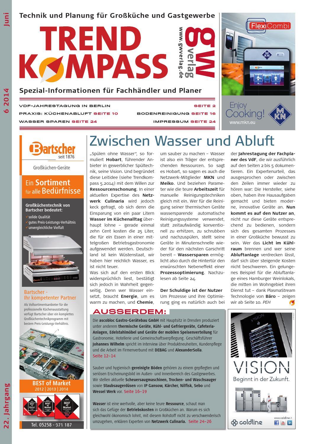 Trendkompass 6/14 by GW VERLAG - issuu