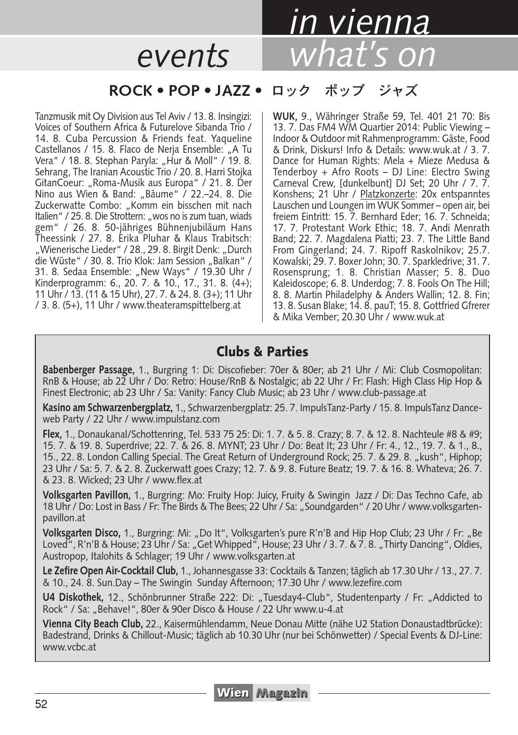 Wien Magazin 8/8 8 by Waltraud Edelmayer   issuu