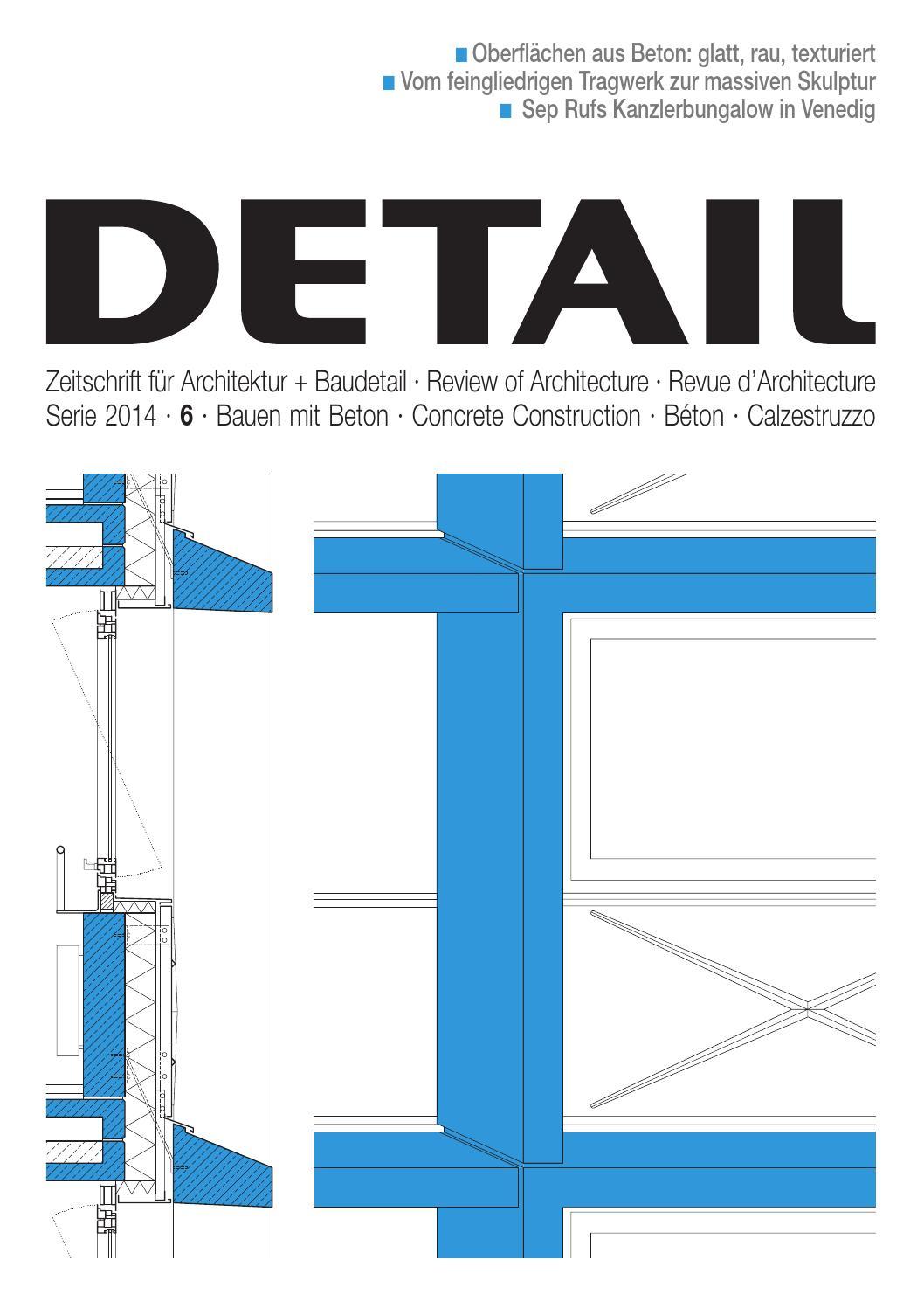 DETAIL 6/2014 Bauen mit Beton · Concrete Construction · Béton ...