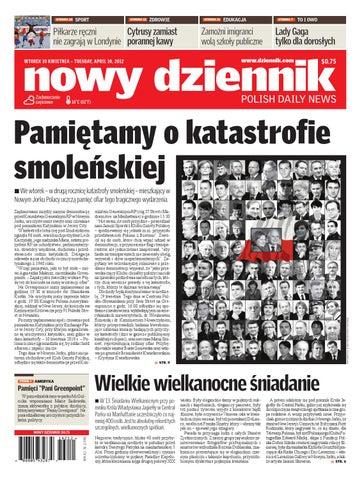 2612497c3edd8 Nowy Dziennik 2012/04/10 by Nowy Dziennik - issuu